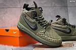 Мужские кроссовки Nike LF1 Duckboot (зеленые), фото 5