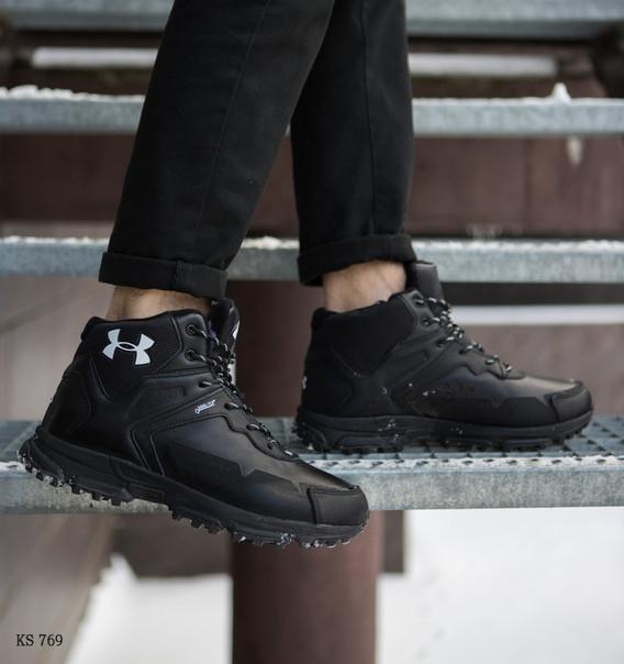 Зимние ботинки Under Armour (черные)