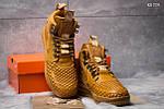 Зимние кроссовки Nike LF1 Duckboot (рыжие), фото 5