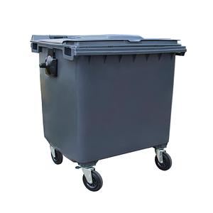 Пластиковий бак для сміття 1100 літрів