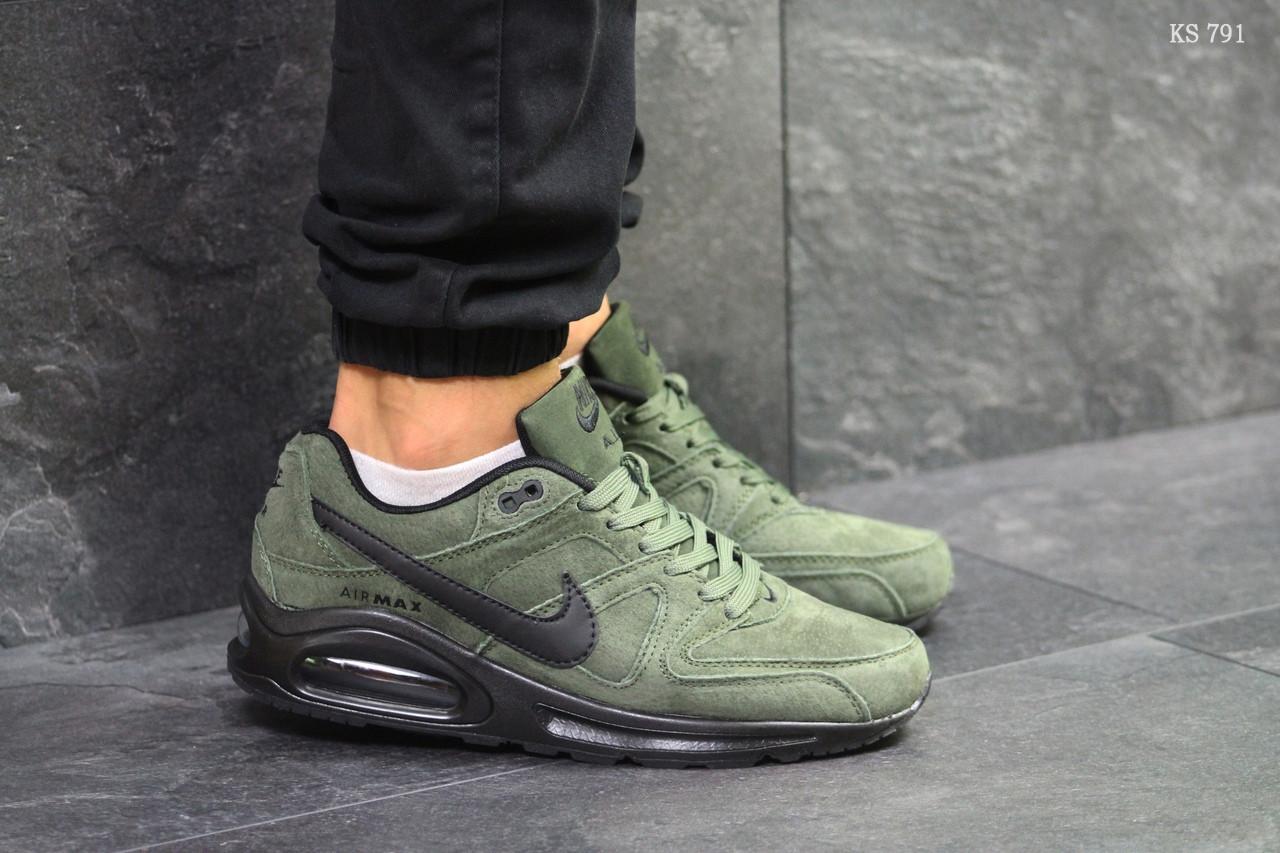 9747cc9a Мужские кроссовки Nike Air Max (зеленые) - Интернет-магазин
