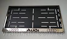 Номерна рамка для авто Audi
