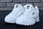 Зимние кроссовки FILA Disruptor 2 (белые), фото 10