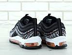 Мужские кроссовки Nike Air Max 97 (черно-белые) , фото 4