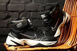 Зимние кроссовки Nike M2K Tekno Winter (черно-белые)
