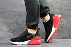 Мужские кроссовки Nike Air Max 270 (черные/красные), фото 2