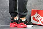 Мужские кроссовки Nike Air Max 270 (черные/красные), фото 3