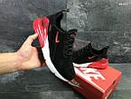 Мужские кроссовки Nike Air Max 270 (черные/красные), фото 4