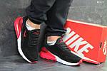 Мужские кроссовки Nike Air Max 270 (черные/красные), фото 5
