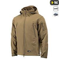 M-Tac куртка Soft Shell с подстежкой Coyote+ПОДАРОК