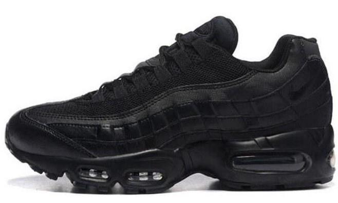 993af96b88d Мужские кроссовки Nike Air Max 95 Triple Black (найк аир макс 95 ...