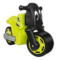 Автомобиль-каталка Big Racing-Bike чудомобиль с защитными насадками для обуви салатовый 56328