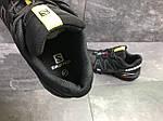 Мужские кроссовки Salomon Speedcross 3 (черно-серые) весна-осень, фото 6