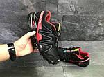 Мужские кроссовки Salomon Speedcross 3 (Черно-красные) весна-осень, фото 4