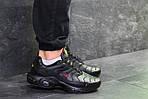 Мужские кроссовки Nike Air Max Tn (черно-красные) весна-осень, фото 3