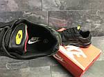 Мужские кроссовки Nike Air Max Tn (черно-красные) весна-осень, фото 4
