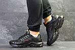 Мужские кроссовки Nike Air Max Tn (черно-красные) весна-осень, фото 5