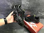 Мужские кроссовки Nike Air Max Tn (черно-красные) весна-осень, фото 6