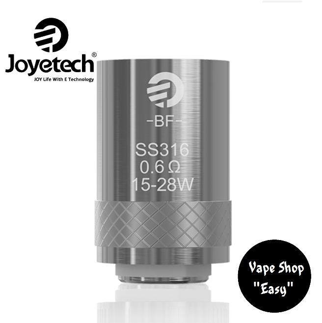 Испаритель JOYETECH CUBIS BF COIL SS316 0.6 ОМ для Cubis, eGo AIO Оригинал.