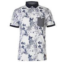 Мужская рубашка поло с принтом Pierre Cardin