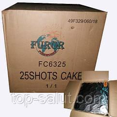 Фейерверк Profi  25 выстрелов FC6325 (калибр 63 мм.)