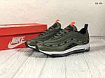 Мужские кроссовки Nike Air Max 97 зеленые, фото 2