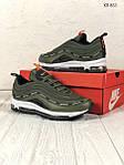 Мужские кроссовки Nike Air Max 97 зеленые, фото 3
