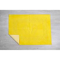 Коврик для ванной Lotus - 45*65 желтый прорезиненный
