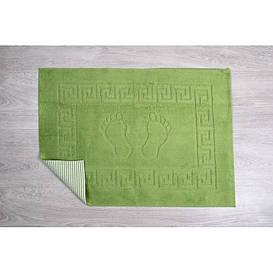 Коврик для ванной Lotus - 45*65 зеленый прорезиненный