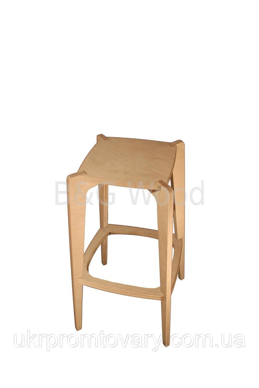 Барный стул Pinta, мебель SPORTMORE, натуральное дерево, фанера от производителя