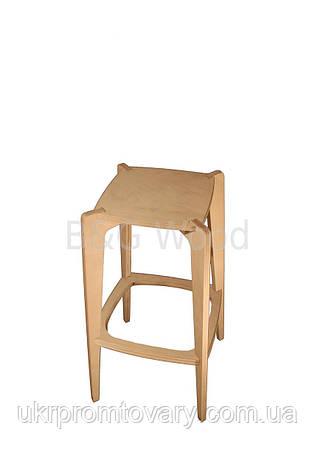 Барный стул Pinta, мебель SPORTMORE, натуральное дерево, фанера от производителя, фото 2