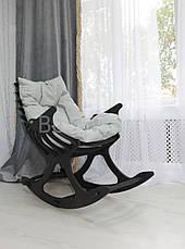 Кресло качалка Ниссе, мебель SPORTMORE, натуральное дерево, фанера от производителя, фото 3