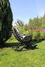 Кресло качалка Ниссе, мебель SPORTMORE, натуральное дерево, фанера от производителя, фото 2