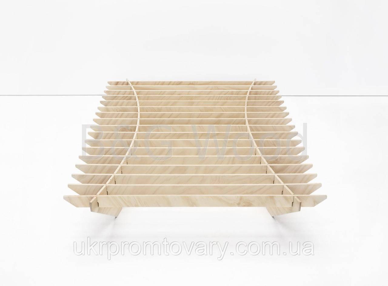 Ліжко Dinolectus 120х200, меблі SPORTMORE, натуральне дерево, фанера від виробника