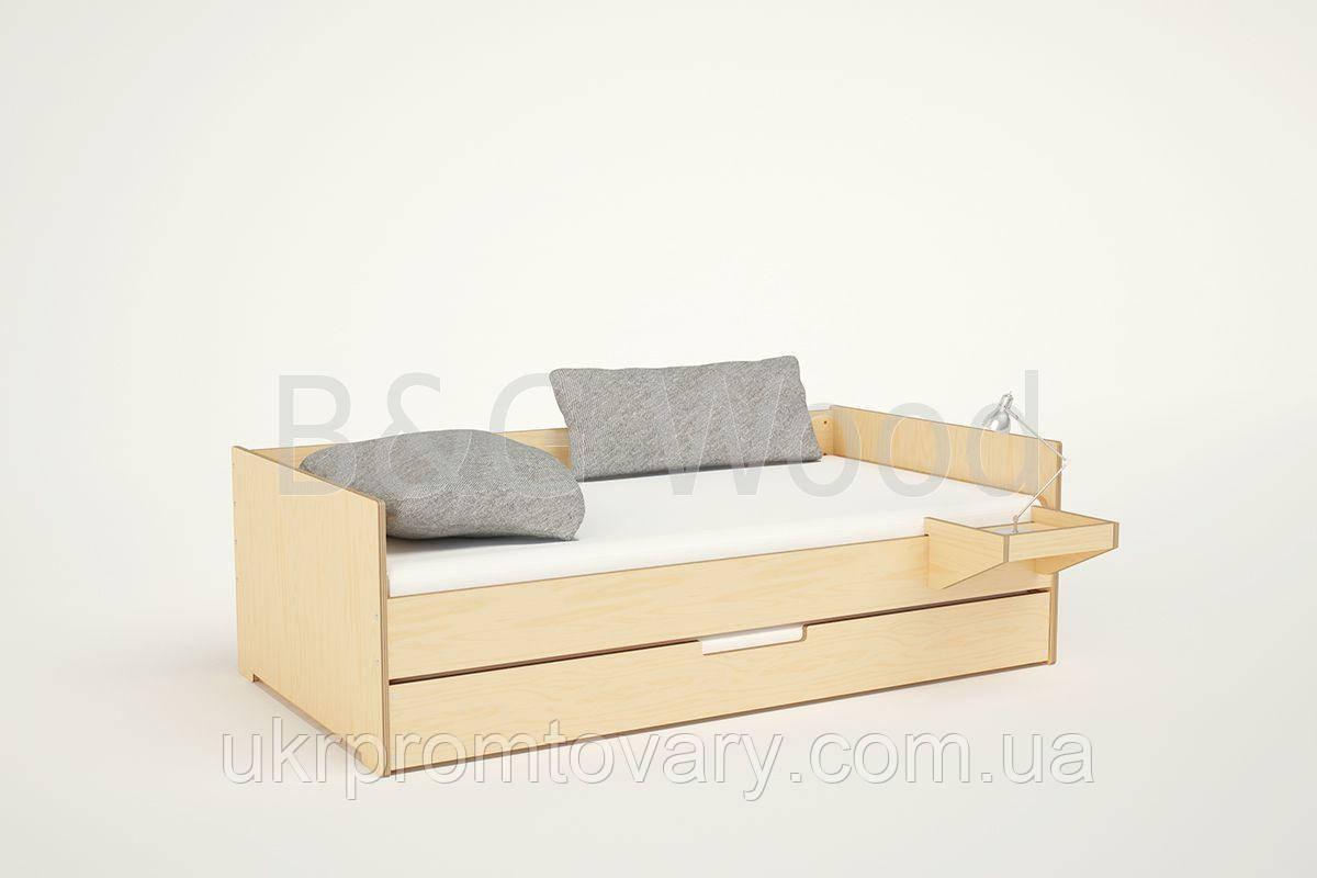 Кровать Mobility, мебель SPORTMORE, натуральное дерево, фанера от производителя