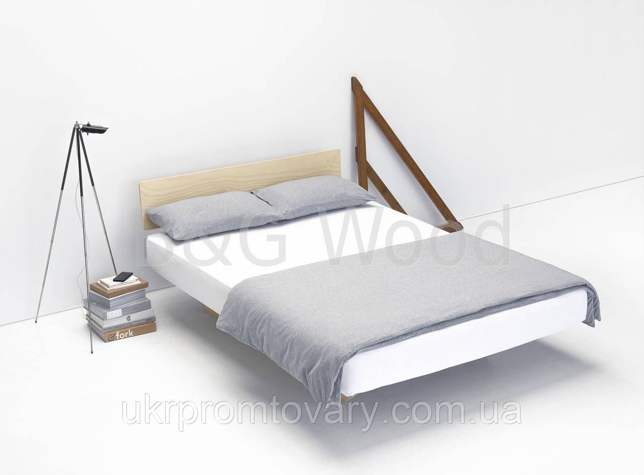 Парящая кровать Dinolectus 160х200, мебель SPORTMORE, натуральное дерево, фанера от производителя