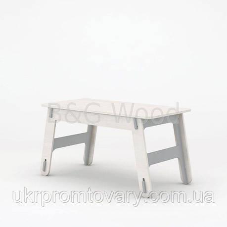 Стол Clic #0, мебель SPORTMORE, натуральное дерево, фанера от производителя, фото 2