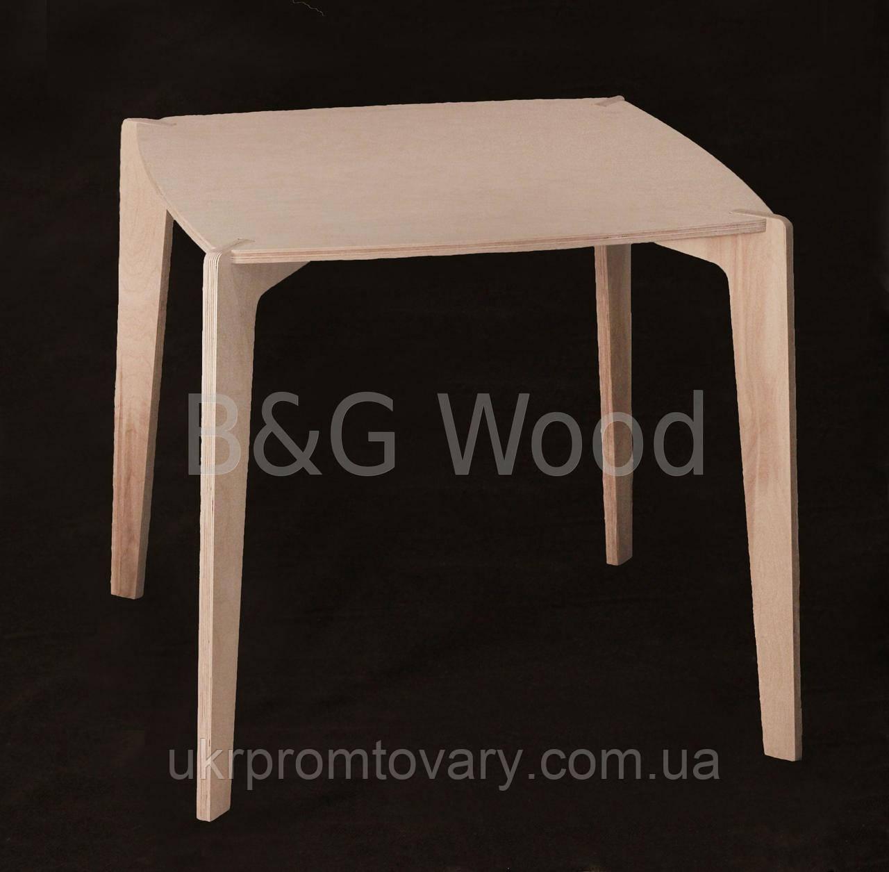 Стол Kevin, мебель SPORTMORE, натуральное дерево, фанера от производителя