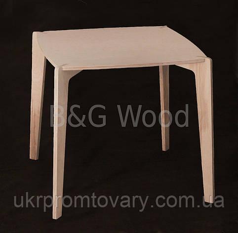 Стол Kevin, мебель SPORTMORE, натуральное дерево, фанера от производителя, фото 2