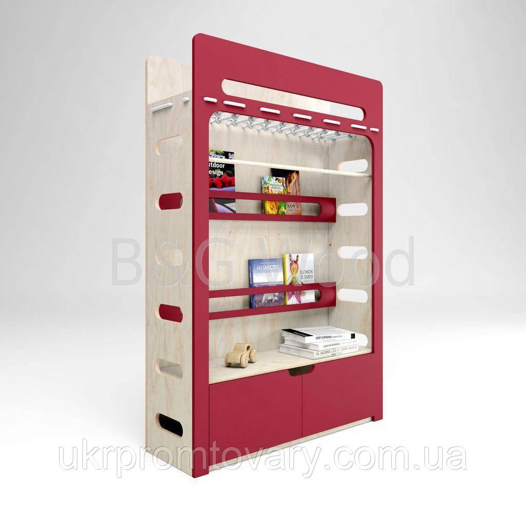 Шкаф Move B, мебель SPORTMORE, натуральное дерево, фанера от производителя