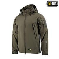 M-Tac армейская куртка Soft Shell Olive софтшел олива