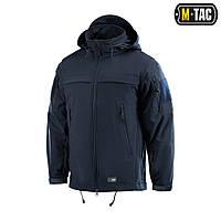 M-Tac куртка Soft Shell Police Navy Blue+ПОДАРОК