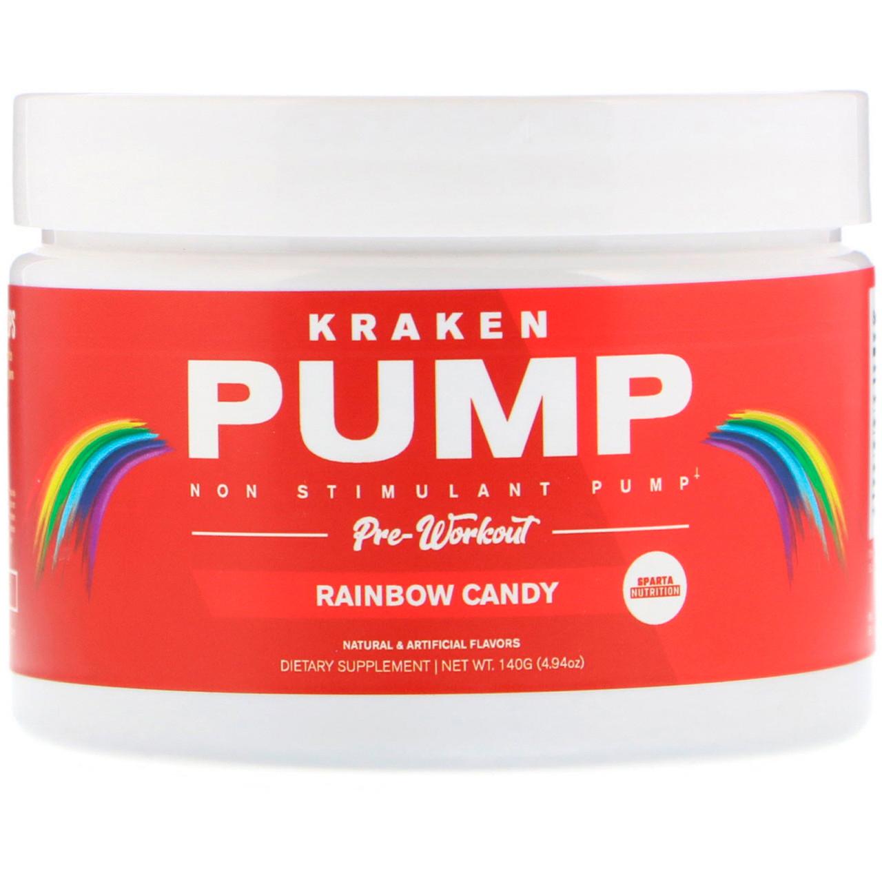 Предтренировочний комплекс Sparta Nutrition Kraken Pump 140 g