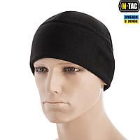 M-Tac шапка Watch Cap Elite флис/сетка Windblock 380 Black