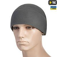 M-Tac шапка Watch Cap Elite флис (260г/м2) with Slimtex Grey