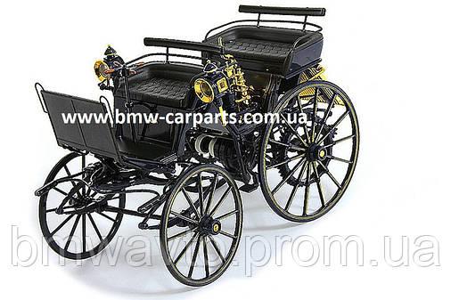 Историческая модель Mercedes Benz Моторизованная повозка Даймлера 1886г., фото 2