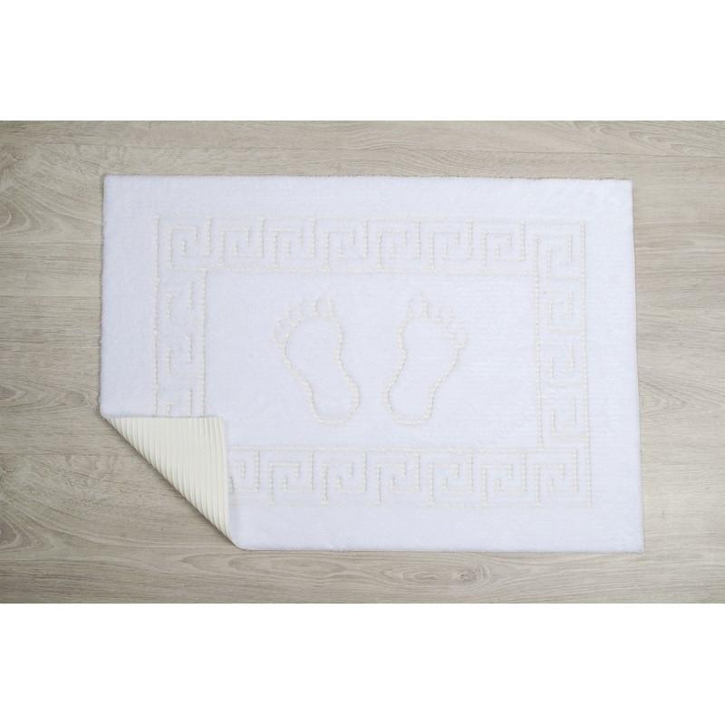 Коврик для ванной Lotus - 45*65 белый оптом