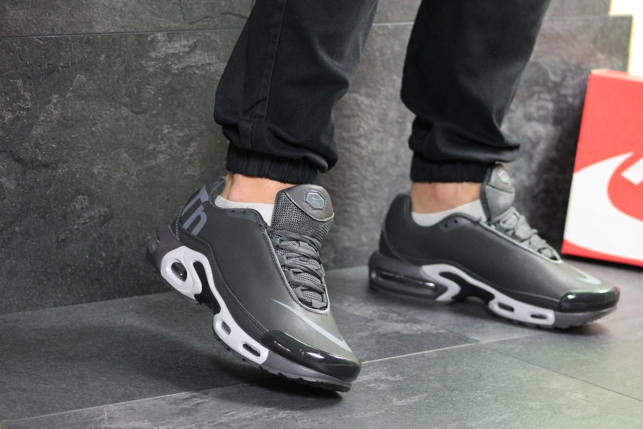 Мужские кроссовки Nike Air Max TN (серые)