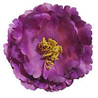 Головка пиона раскрытого  фиолетовый 12см.