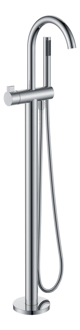 Смеситель для ванны, отдельностоящий, хром, (12-33-100)